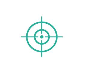 beamforming zielscheibe symbol
